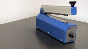 Lasbalk manueel-tafelsealer-impulssealer