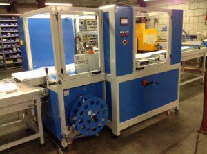 Alfatechnics Automatische side sealmachine type 500 krimpverpakkingsmachine.
