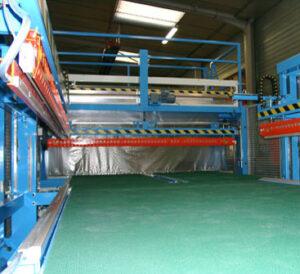 Farbal zijlasstations voor volautomatisch krimpfolieverpakken met volledig gesloten krimp. voor grote producten.
