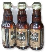 Alfatechnics setverpakking 3 flessen in gesloten krimp met Polyolefine folie als promoverpakking. De flessen lopen liggend door de folieverpakkingsmachine indien het een automatische sidesealer is. Deze krimpfolieverpakking kan ook op een L-sealer of hoeklasser gemaakt worden.