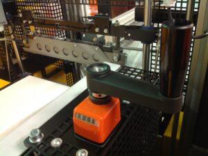 Alfatechnics sidesealmachine krimpfolieverpakkingsmachine lasbalk en hoogteregeling