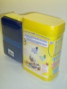 Krimpfolieverpakking met polyolefinefolie voor presentatieverpakking en promotieverkoop.
