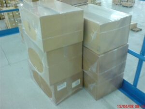 Alfatechnics, Farbal, open krimp, krimpfolieverpakking, bundelpakker, transportverpakking, krimpfolie beschermverpakking, bundelpacker.